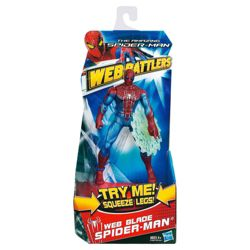 The Amazing Spider-Man Web Battlers Web Blade Spider-Man Action Figure