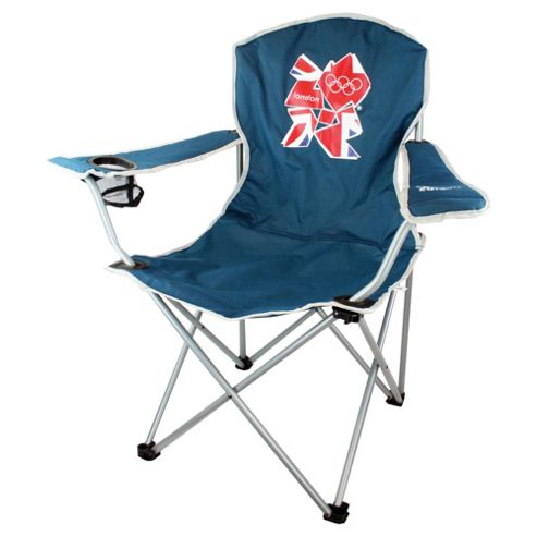 Highlander London 2012 Olympics Camping Chair, 2012 Emblem