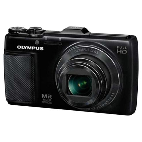Olympus SH25 Black Digital Camera