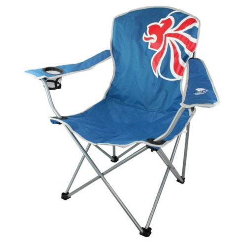 Highlander London 2012 Olympics Camping Chair, Lion Emblem