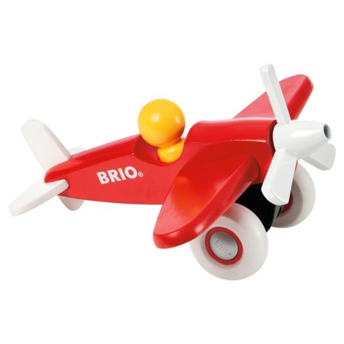 Brio Push 'n' Pull Airplane, wooden toy