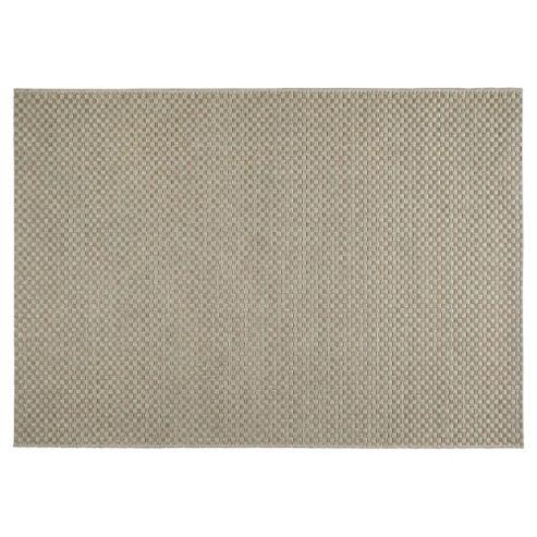 Buy Tesco Rugs Textured Flatweave Rug Natural 120x170cm