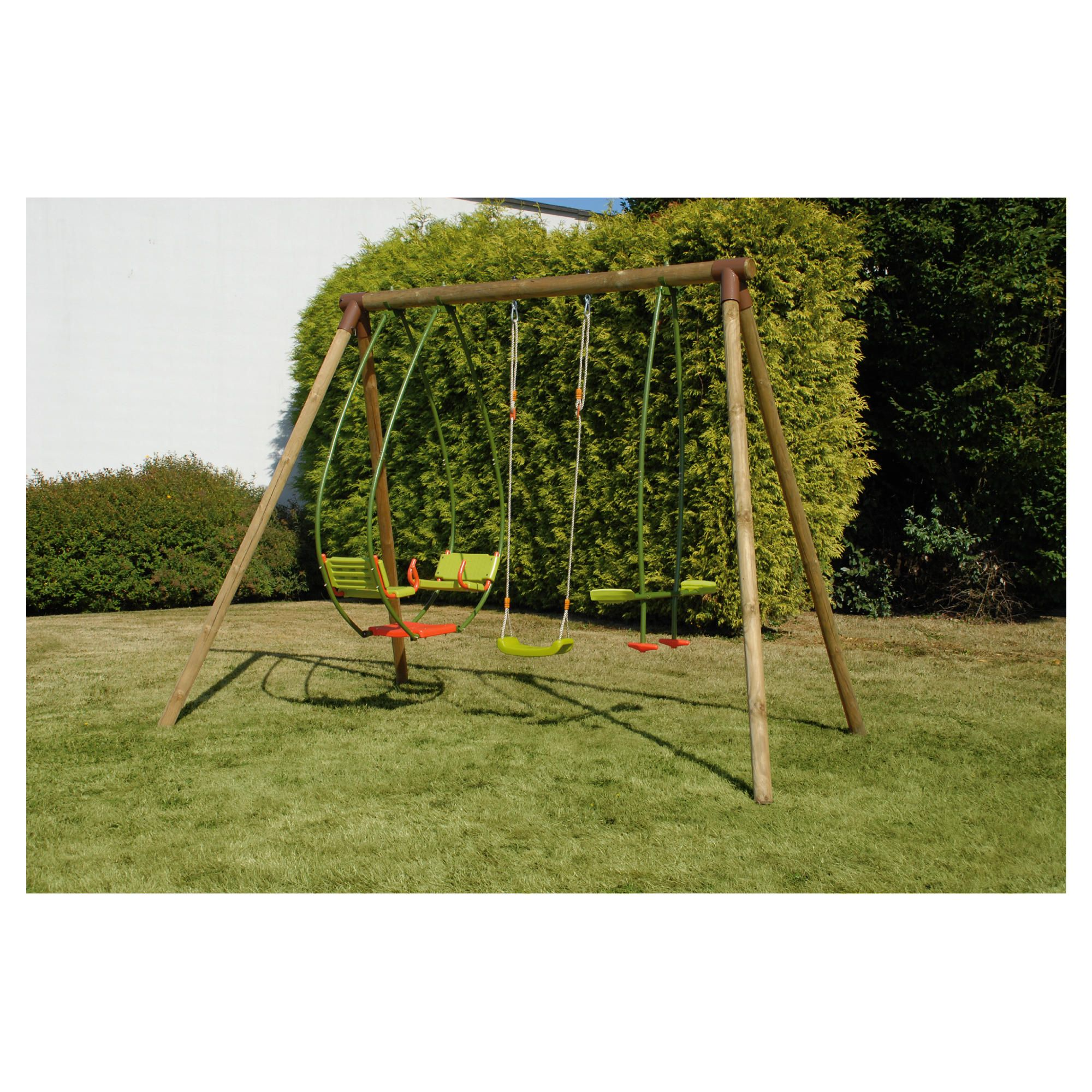 Garrigue Swing Set at Tesco Direct