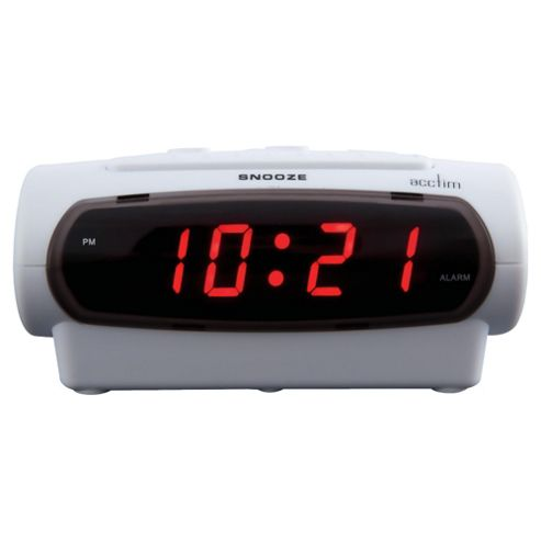 Acctim Gemini Alarm Clock