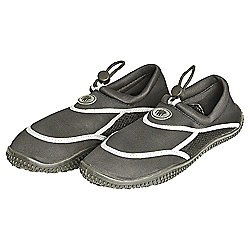 TWF Adult Wetshoes, Black Size 6