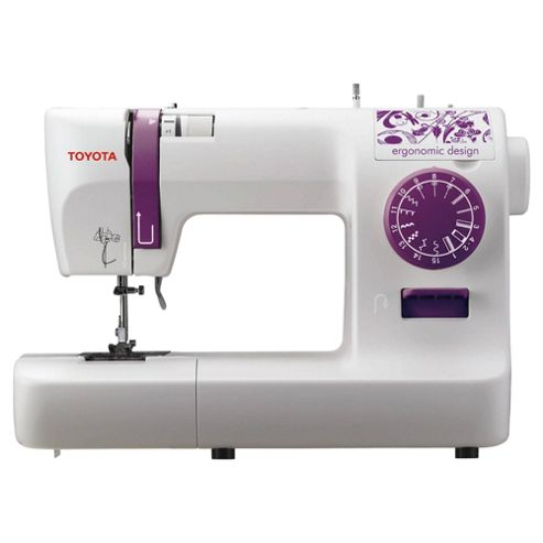 Buy toyota eco15a electronic sewing machine white from our sewing machines range tesco - Auchan machine a coudre ...