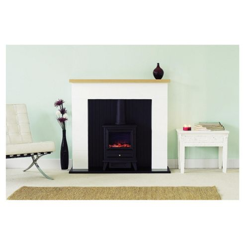 Adam Innsbruck white with electric stove Electric suite