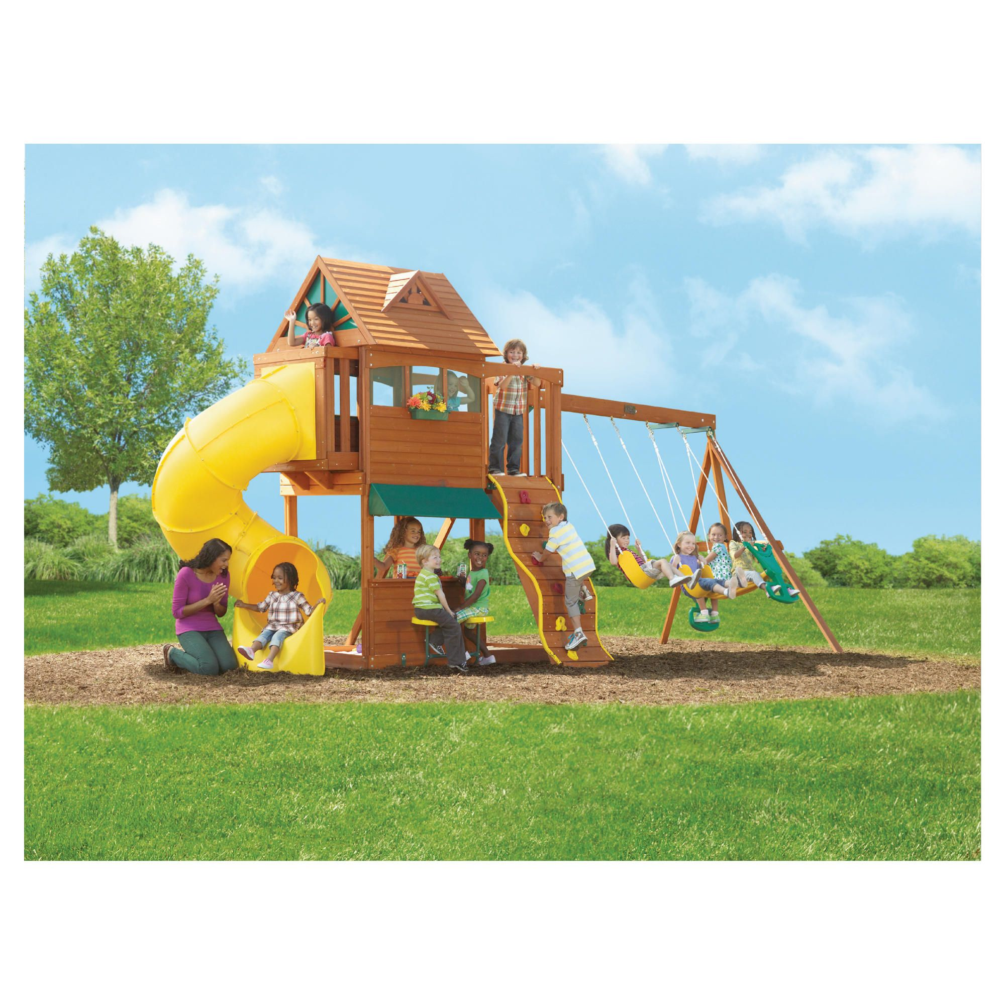 Selwood Summerville Playset at Tesco Direct