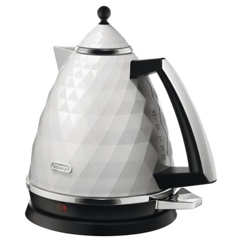 Delonghi KBJ3001.W Brillante Traditional Kettle, White