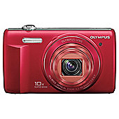 Olympus VR-340 Red Digital Camera
