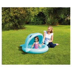 Tesco Baby Whale Shade And Paddling Pool