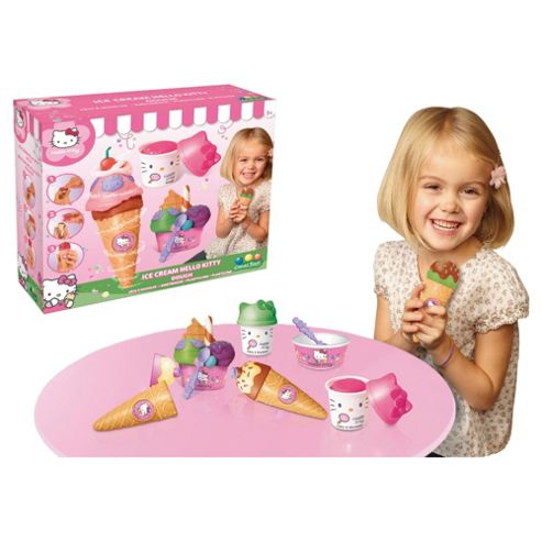 Hello Kitty Ice Cream Party Dough Playset