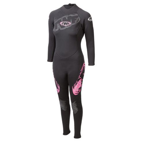TWF Full Women'sl 2.5mm Wetsuit 16 Pink