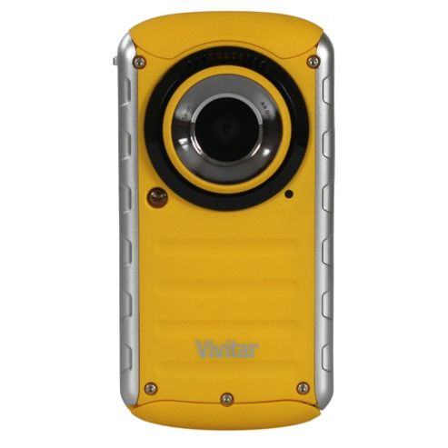 Vivitar DVR690HD Waterproof Camcorder, Yellow