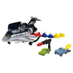 Cars 2 Action Agents Siddely Spy Jet Trackset
