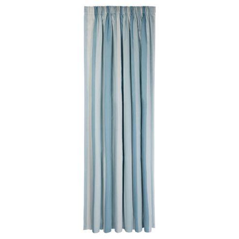 Tesco Hampton Stripe Unlined Pencil Pleat Curtains W167xL183cm (66x72