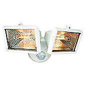 Elro Halogen Twin Security Light 120w ES120/2, White