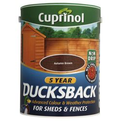 Cuprinol Ducksback Autumn Brown 5L