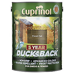 Cuprinol Ducksback, 5L, Forest Oak