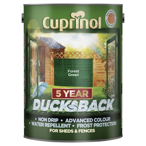 Cuprinol Ducksback, 5L, Forest Green