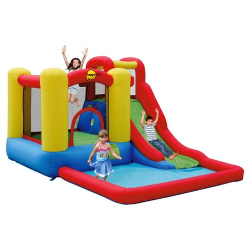 Happy Hop Jump & Splash Adventure Zone Bouncy Castle & Pool