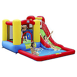 Jump & Splash Adventure Zone Bouncy Castle & Pool