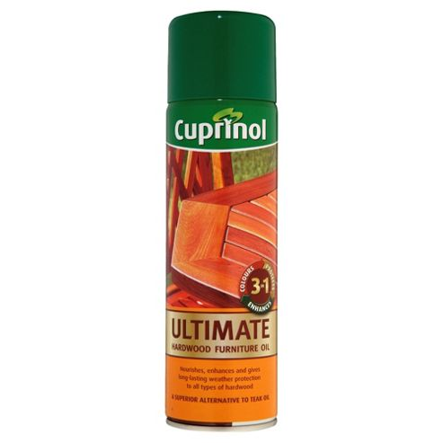 Cuprinol Hardwood Garden Furniture Oil Aerosol Tesco Paint