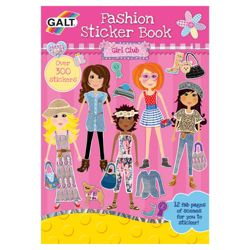 Galt Girls Club Fashion Sticker Book