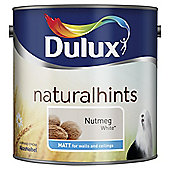 Dulux Matt Emulsion Paint, Nutmeg White, 2.5L