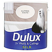 Dulux Nutmeg White 2.5L Silk