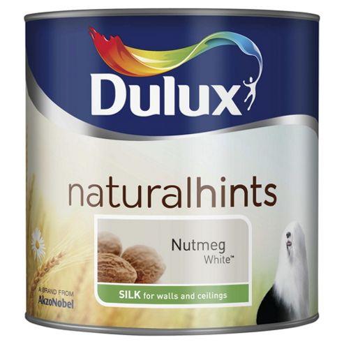 Dulux Silk Emulsion Paint, Nutmeg White, 2.5L
