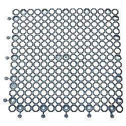 Plum Protektamat 50cm x 50cm, Black Pack of 2