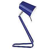 Leitmotiv 'Z' Table Lamp, Blue