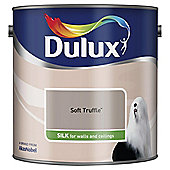 Dulux Silk Emulsion Paint, Soft Truffle, 2.5L