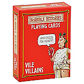Cheatwell Horrible Histories Card Game Vile Villains