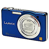"Panasonic SZ1 Digital Camera 3"" LCD, Blue"