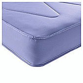 Airsprung Essentials Kids Single Waterproof Anti Dust Mattress Lilac
