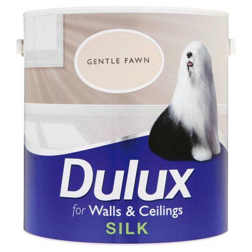 Dulux Silk Emulsion Paint, Gentle Fawn, 2.5L
