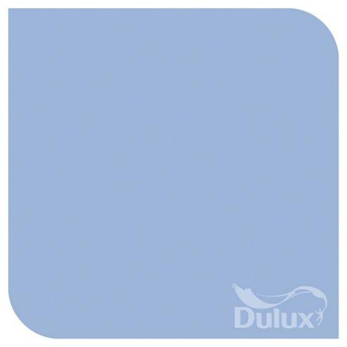Dulux Silk Emulsion Paint, Blue Babe, 2.5L