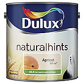 Dulux Silk Emulsion Paint, Apricot White, 2.5L