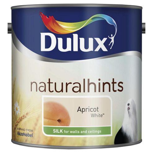 Dulux Silk Emulsion Paint, Apricot White, 2.5L