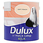 DULUX SILK SOFT PEACH 2.5L