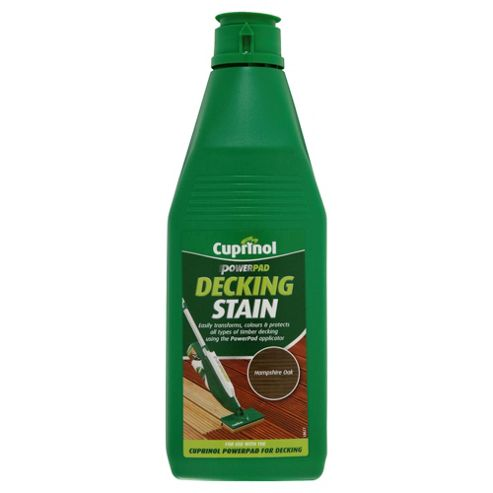 Cuprinol Decking Stain, 1L, Hampshire Oak