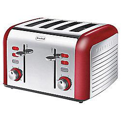 Breville Opula VTT332 4 Slice Toaster - Carnelian Red