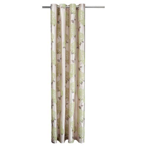 Tesco Amelia Flock Eyelet Curtains W163xL183cm (64x72