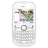 Tesco Mobile Nokia 201 White