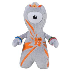 London 2012 Olympics Team GB Soft Toy Mascot Wenlock