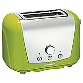 Morphy Richards 44384 2 Slice Toaster - Green