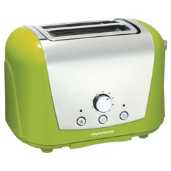 Morphy Richards 77-714 2 Slice Toaster - Green