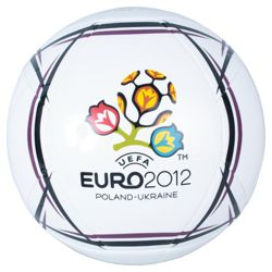 Euro 2012 Official Football-white